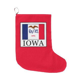 Grande Chaussette De Noël L'Iowa