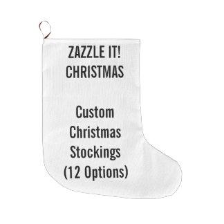 Grande Chaussette De Noël Noël fait sur commande stockant la GRANDE 1 copie