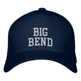 Grande courbure chapeaux brodés