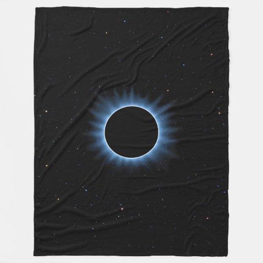 Grande couverture d'ouatine d'éclipse solaire