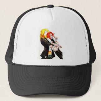 Grande étreinte casquette
