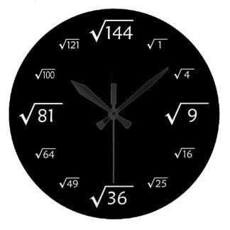 racine carr e horloges racine carr e pendules murales. Black Bedroom Furniture Sets. Home Design Ideas