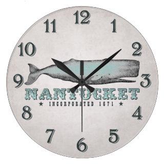 Grande Horloge Ronde Baleine vintage Nantucket le Massachusetts inc.