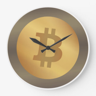 Grande Horloge Ronde Bitcoin (BTC)