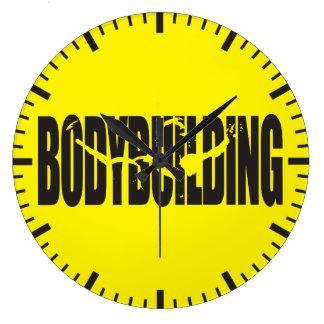 Grande Horloge Ronde Bodybuilding