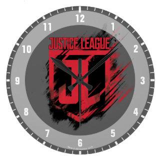 Grande Horloge Ronde Bouclier de la peinture balayé par | JL de ligue