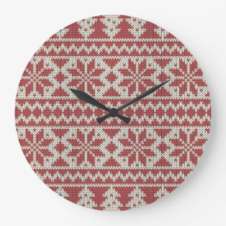 Grande Horloge Ronde Cadeau traditionnel de Noël