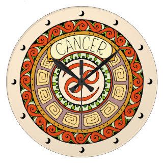 Grande Horloge Ronde Cancer le crabe