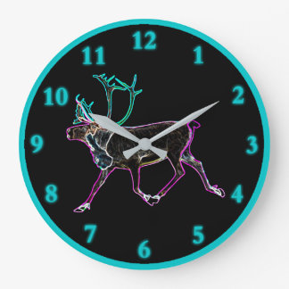 Grande Horloge Ronde Caribou électrique