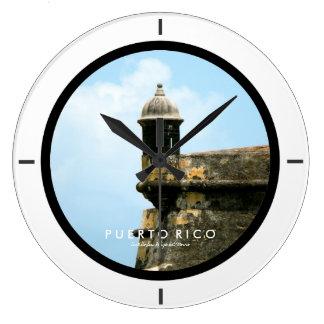 Grande Horloge Ronde Castillo San Felipe del Morro, Porto Rico