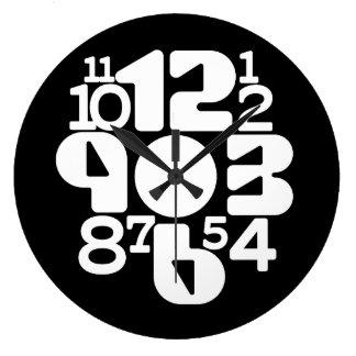 Grande Horloge Ronde CHAOS COMMANDÉ :  audacieux et comprimé