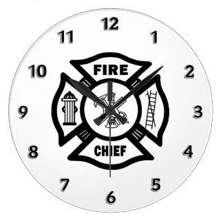 Grande Horloge Ronde Chef des pompiers