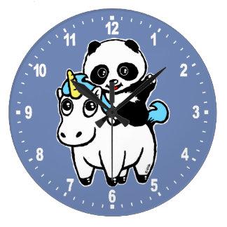 Grande Horloge Ronde Comme par magie mignon