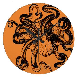 Grande Horloge Ronde Conceptions impressionnantes de Kraken