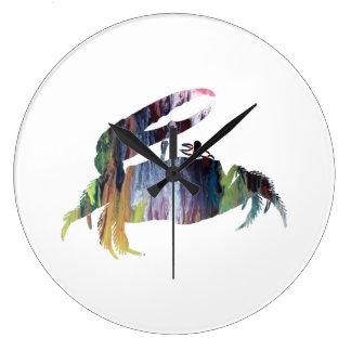 Grande Horloge Ronde Crabe de violoneur