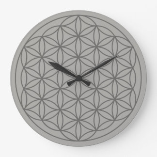 Grande Horloge Ronde Fleur de l'horloge 2 de la vie