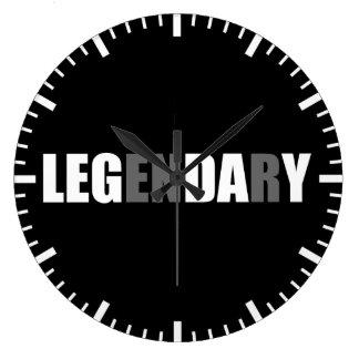 Grande Horloge Ronde Forme physique de motivation GymBodybuliding -
