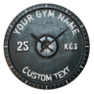 Grande Horloge Ronde Forme physique vintage de propriétaire ou