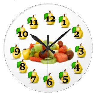 Grande Horloge Ronde Fruit