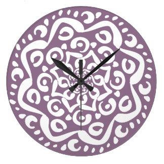 Grande Horloge Ronde Glycines