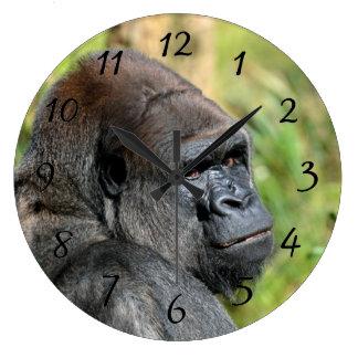 Grande Horloge Ronde Gorille adulte