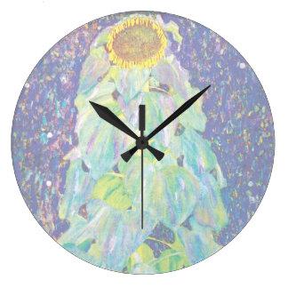 Grande Horloge Ronde Gustav Klimt - la peinture de beaux-arts de