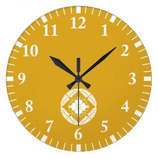 Grande Horloge Ronde Huit wisterias