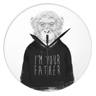 Grande Horloge Ronde Je suis votre père