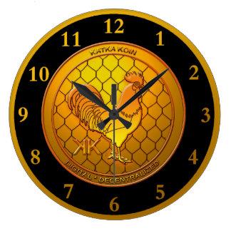 Grande Horloge Ronde KatkaKoin Cryptocurrency ICO