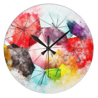 Grande Horloge Ronde La brigade glorieuse de parapluie