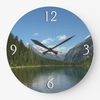 Grande Horloge Ronde Lac I avalanche en parc national de glacier