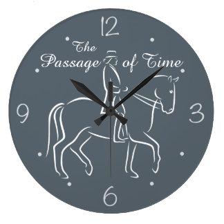 Grande Horloge Ronde Le dressage de passage du temps