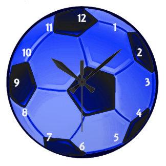 Grande Horloge Ronde Le football ou le football d'association américain