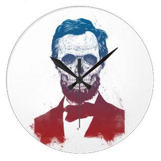 Grande Horloge Ronde Lincoln mort
