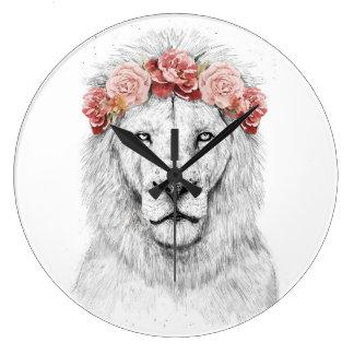 Grande Horloge Ronde Lion de festival