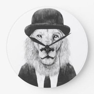 Grande Horloge Ronde Lion de monsieur