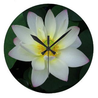 Grande Horloge Ronde Lotus