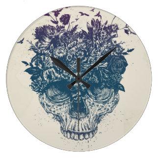 Grande Horloge Ronde Ma tête est une jungle