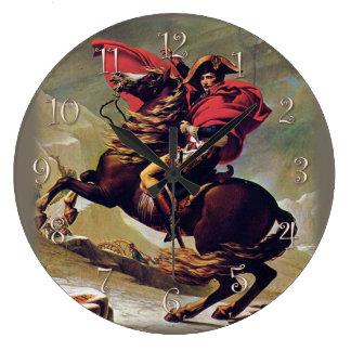 Grande Horloge Ronde Napoléon à cheval
