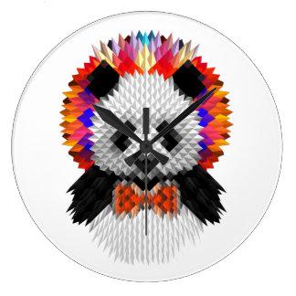Grande Horloge Ronde Panda