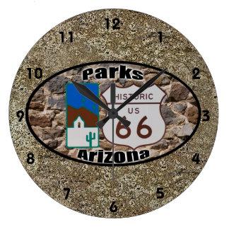 Grande Horloge Ronde Parcs historiques de ~ de l'itinéraire 66, Arizona