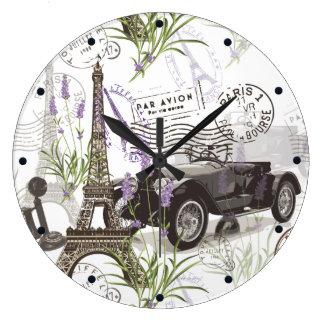 Grande Horloge Ronde Paris vintage