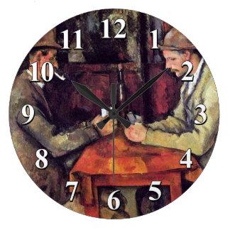 Grande Horloge Ronde Paul Cezanne - la peinture de beaux-arts de