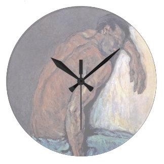 Grande Horloge Ronde Paul Cezanne - la peinture de beaux-arts de Scipio