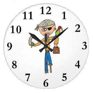 Grande Horloge Ronde Pirate