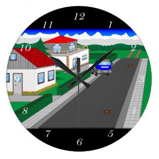 Grande Horloge Ronde Routes et construction