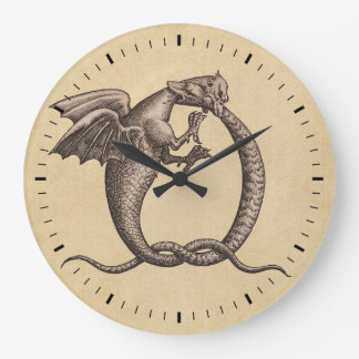 Grande Horloge Ronde Soufre et Mercury