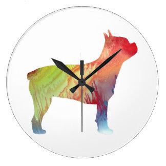 Grande Horloge Ronde Terrier de Boston