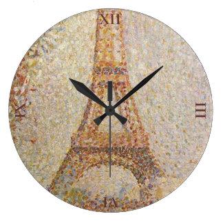 Grande Horloge Ronde Tour Eiffel par Georges Seurat