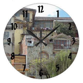 Grande Horloge Ronde Voisinage de Cuenca-Barranco